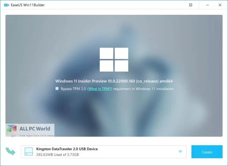 EaseUS Win11Builder Free Download