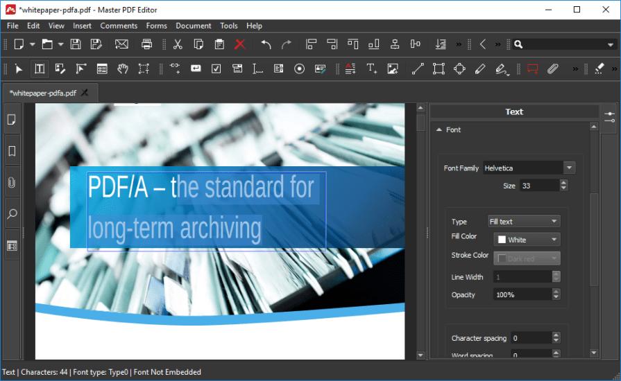 Master PDF Editor 5 Free Download
