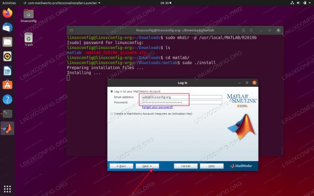 Mathworks Matlab R2021b for Ubuntu Free Download