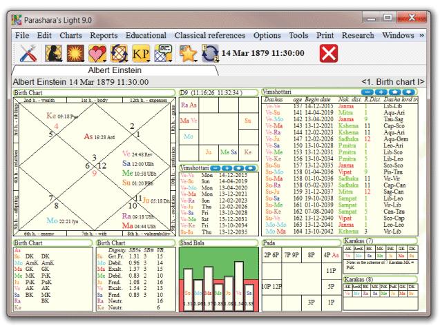 Parashar Light Kundli Software Verdiac Software