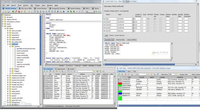 RazorSQL 9 Free Download