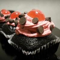 Choco Cherry Cupcakes