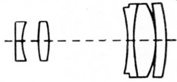 The Isco-Gottingen Tele-Westanar 135 mm f/ 3.5 Lens. Specs