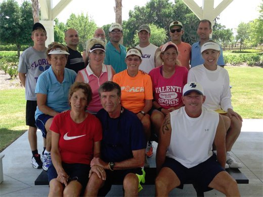 2014 players at Villages Pro Exhibition