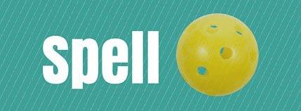 spell pickleball