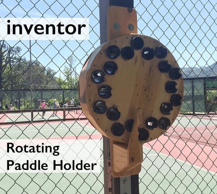 rotating paddle holder