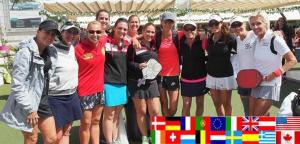 Team USA and Team Europe