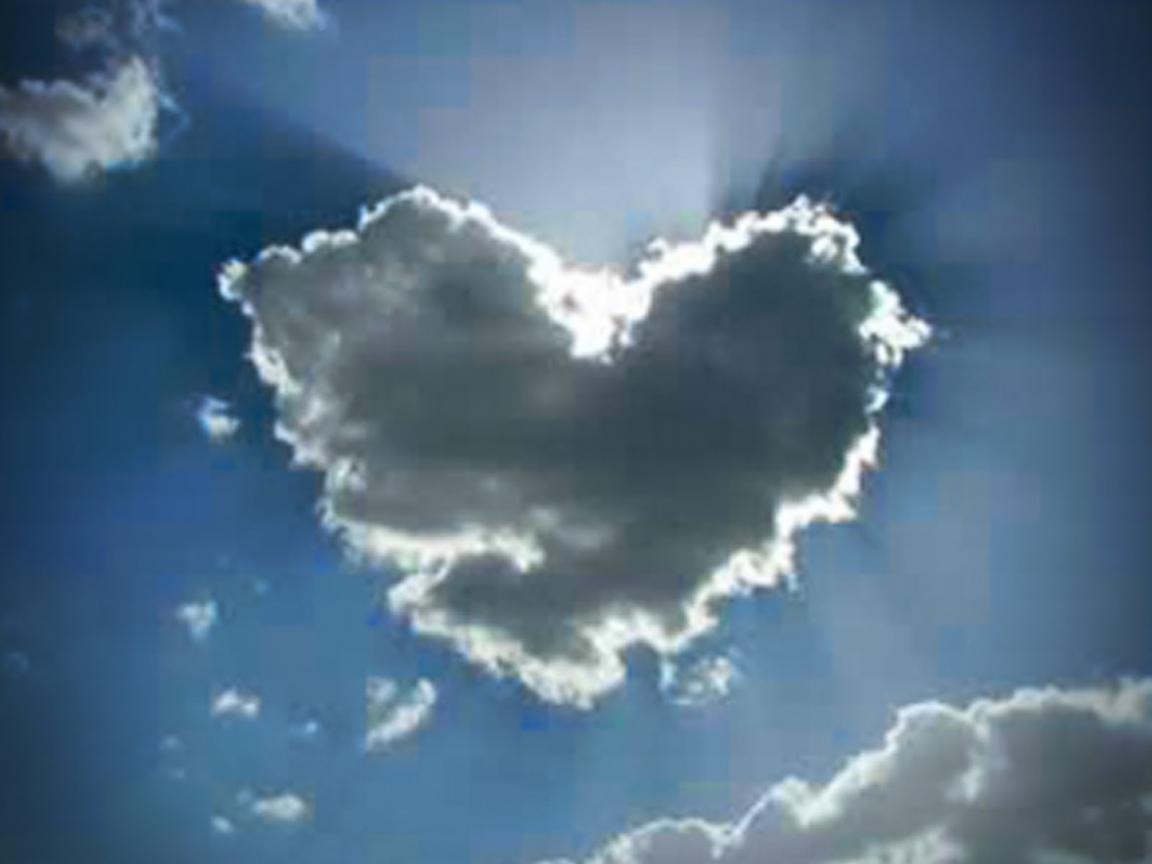 Cute Love Symbol Wallpapers Heart Shaped Cloud 26 Of 57 Love Cloud Covering The Sun