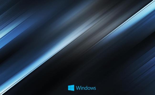 01 Of 10 Abstract Windows 10 Background With Diagonal Blue