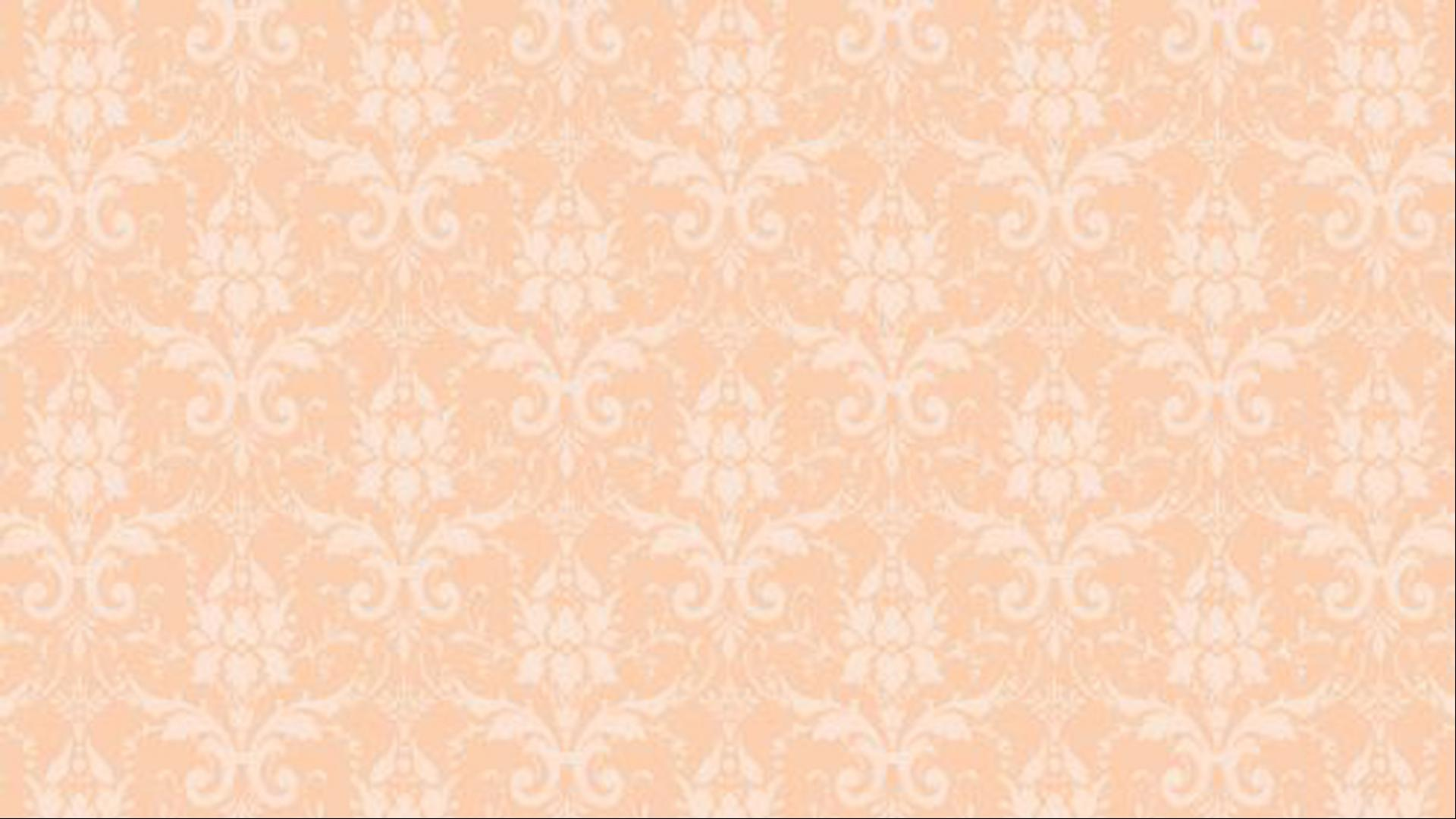 Peach Color Wallpaper For Damask Pattern HD Wallpapers