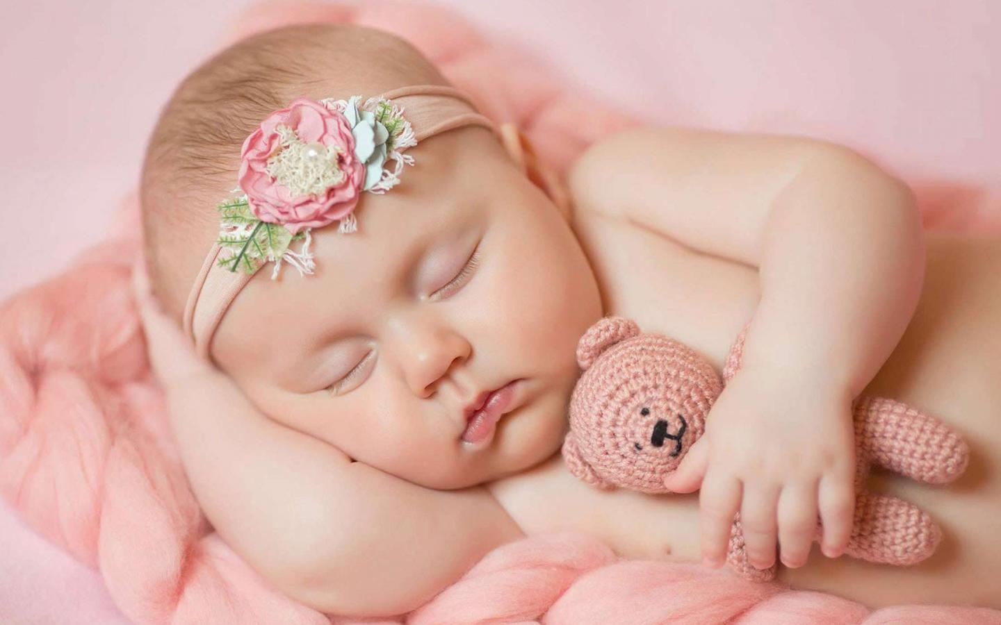 Cute Newborn Baby Girl Wallpaper Sleeping Baby Images In Hd For Photo Session Hd