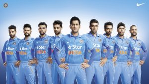 Attachment picture for Indian Cricket Team with Original Team Kit by Nike