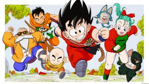 Dragon Ball Super wallpaper - Goku and friends