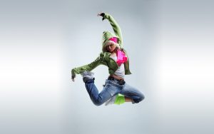 Picture of 20 Best Dance Wallpaper - No 6 Dance Picture - Girl in Jump