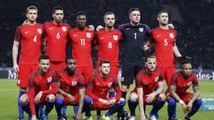 England Football Team for Euro 2016