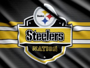 Attachment for Steelers Wallpaper 7 of 37 - black and gold flag