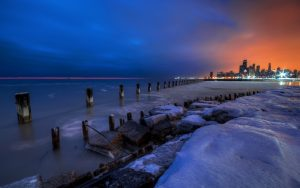 Attachment picture for high resolution nature pictures with snowing beach near cities