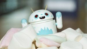 Attachment for 37 Cute Stuff Wallpapers - Android Marshmallow White Robot in 4K
