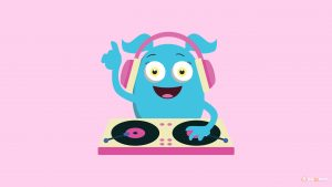 Attachment for 37 Cute Stuff Wallpapers - Monster DJ
