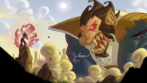 Attachment for Dragon Ball Z Wallpaper 16 of 49 - Monkey Monster Transformation