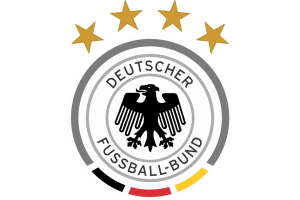 Germany Football Logo Wallpaper With 4 Stars And National Flag Hd Wallpapers Wallpapers Download High Resolution Wallpapers
