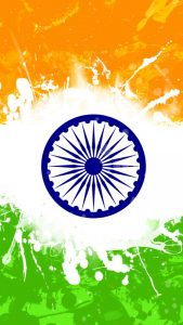 Attachment for India Flag for Mobile Phone Wallpaper 6 of 17 - Artistic Tiranga