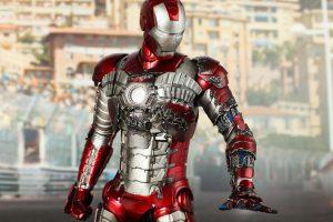 Iron Man Mark V Wallpaper - Emergency Suit