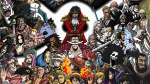 Attachment file of One Piece Wallpaper - Straw Hat Pirates Crew and Enemies
