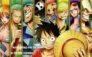 Attachment file of One Piece Wallpaper - The Straw Hat Pirates Crew in Portrait