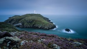 Strumble Head Lighthouse for HD Wallpaper 1920x1080