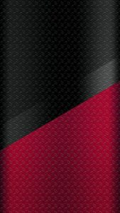 Dark S7 Edge Wallpaper 06 with Black and Red Metal Texture