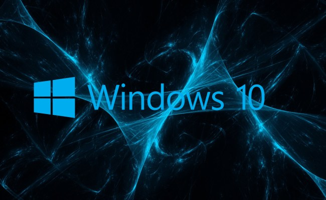 07 Of 10 Abstract Windows 10 Background And Logo With Blue
