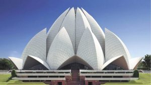 High Quality Picture of Lotus Temple India for Desktop Background