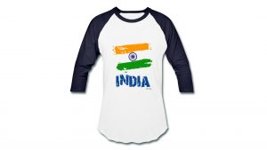 Wallpaper with Indian Flag T Shirts