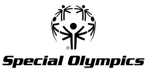 Special Olympics Logo in Black and White