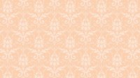 Peach Color Wallpaper for Damask Pattern | HD Wallpapers ...