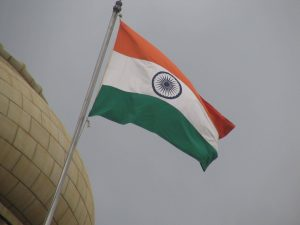 India flag wallpaper for independence day download - animation in 3d