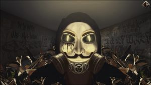 Anonymous Gas Mask Wallpaper by Corpex