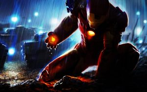 Badass Iron Man Wallpaper