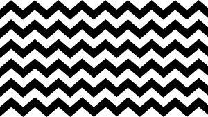 Black And White Zig Zag Wallpaper in 4K