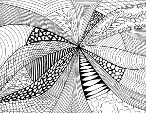 Examples Of Abstract Art Drawings in Simple Design
