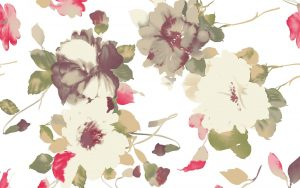 Old Fashioned Floral Wallpaper
