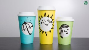 Cute Starbucks Wallpaper with Limited Edition Cup Design