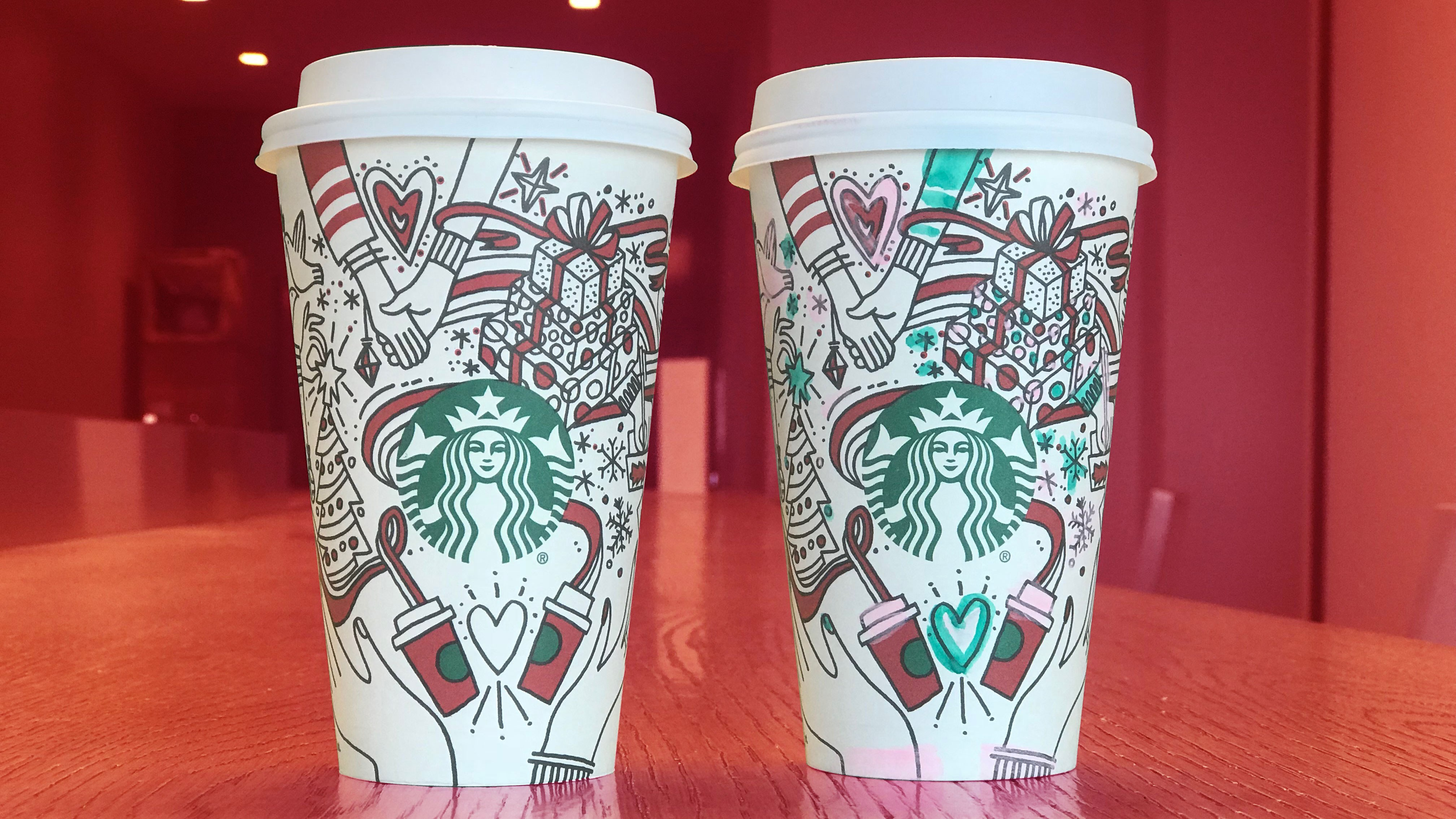 Cute Coffee Cups Wallpapers Cute Starbucks Wallpapers With Holiday Cups Close Up Photo