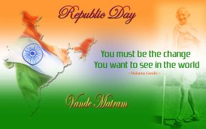 Indian Republic Day Quotes by Mahatma Gandhi