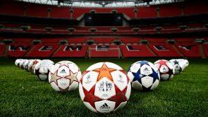 Pics of Soccer Balls on Wembley Stadium