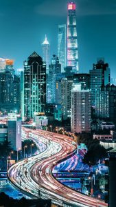 Views of City at Night for Xiaomi Redmi 5A Wallpaper