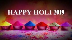 Happy Holi 2019 Wallpaper in HD 2560x1440