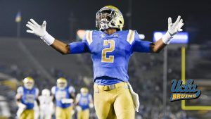 UCLA Bruins Football Player Wallpaper for Desktop Background