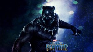 Black Panther Marvel Close Up Picture for Wallpaper